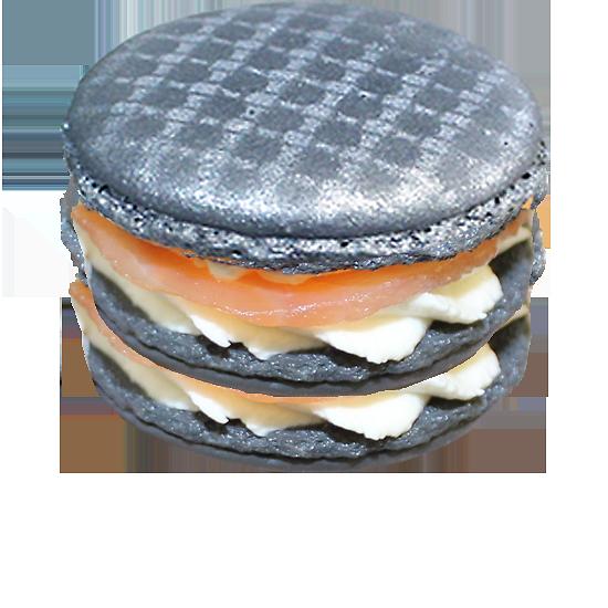 Macaron Saumon & St Môret