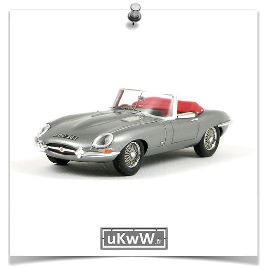 Jaguar E roadster 1961