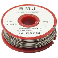 1,0MM SOUDURE 60/40 10/10 100G CT2