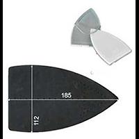 SEMELLE TEFLON GHIDINI GBG 185X110