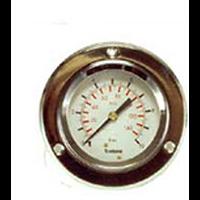 MANOMETRE 0 6 BARS DIAM 60 FIX 1/4'' 3 TROUS