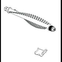 Kit de brosse sur support  pour aspirateur handy 2 en 1 nilfisk