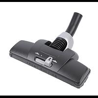 Brosse Dust Magnet Noire pour Sols Durs et Tapis