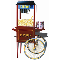CHARIOT A POPCORN