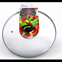 Pliage couvercle en verre avec 24 cm de poignée.