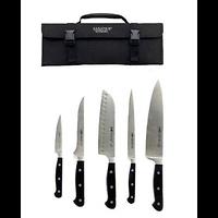 5 couteaux dans trousse nylon