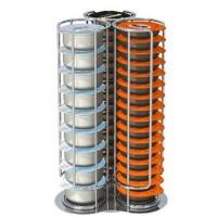 Porte-capsules TAVOLA SWISS CAPSTORE GIRO