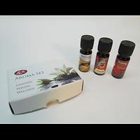 Aromathérapie : coffret de 3 essences