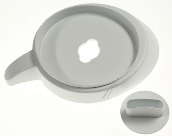 Couvercle/bol/blender/blanc