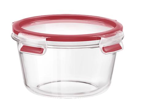 Masterseal Fresh ronde en verre 0.9l rouge