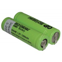 2,4V-1300MAH ACCUPACK NI-MH 48X 14 X 28MM.