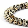 Bracelet Jaspe Dalmatien