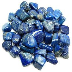 Pierre polie en Lapis-Lazuli