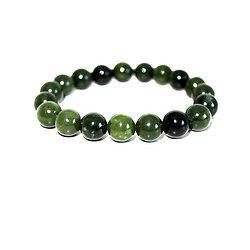 Bracelet Jade Nephrite élastique
