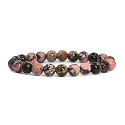 Bracelet Rhodonite élastique
