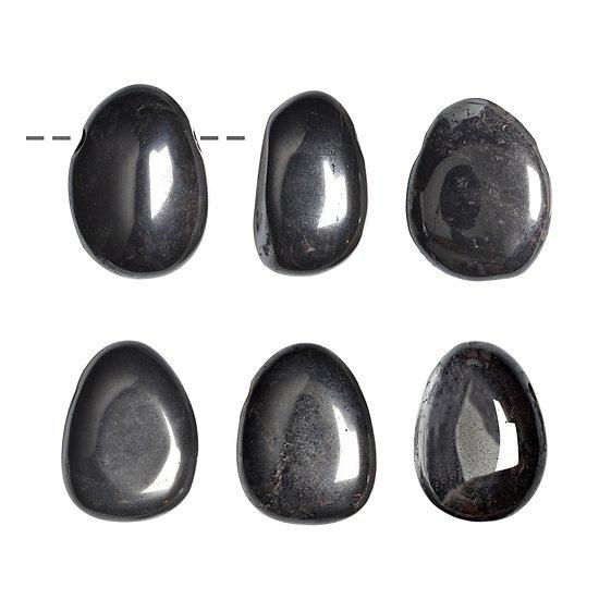Pendentif Hematite percé