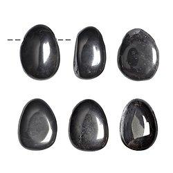 Pendentif percé Hematite