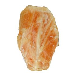 Calcite jaune (orange) brute