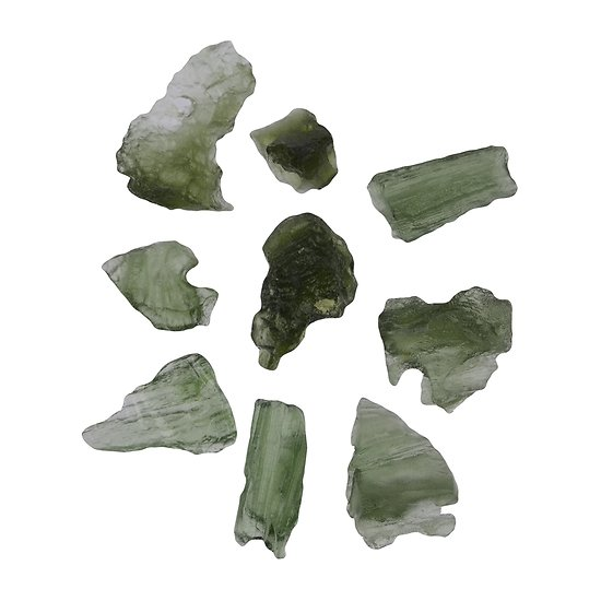 Moldavite brute