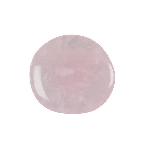 Petit palet en Quartz Rose