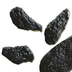 Tectite (meteorite) brute