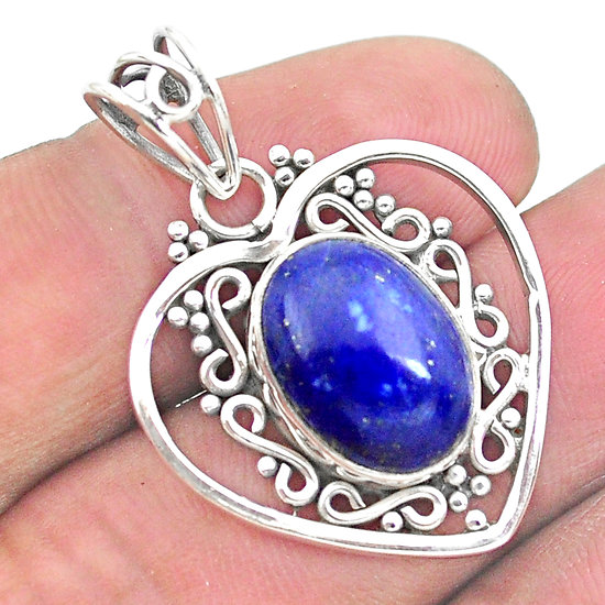 Pendentif Lapis Lazuli 925/000