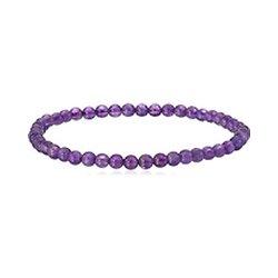 Bracelet Amethyste élastique