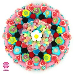 Maxi gâteau de bonbons Printemps 320mm