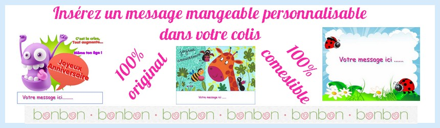 Carte mangeable