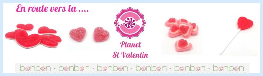 Toute notre gamme de bonbons pour la St Valentin