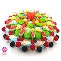 Gâteau de bonbons Jardin Sucré 320mm