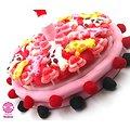 Gâteau de bonbons Anniversaire Fille avec bougie étoile  320mm