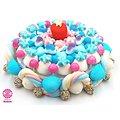 Gâteau de bonbons Au coeur de l'hiver 320mm
