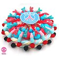 Gâteau de bonbons foot PSG 320mm