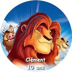 Disque azyme Le Roi Lion