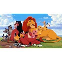 Plaque Azyme Le roi Lion