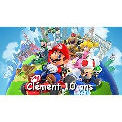 Plaque Mario Kart