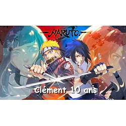 Plaque azyme Naruto