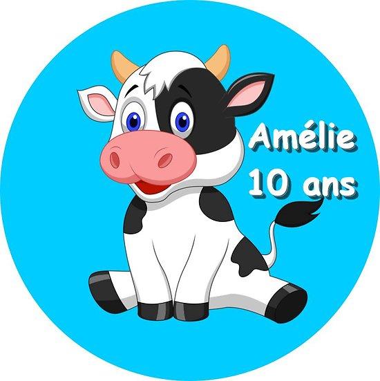 Disque azyme Vache