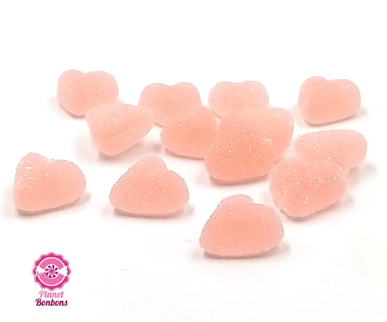 Mini coeur rose sucré