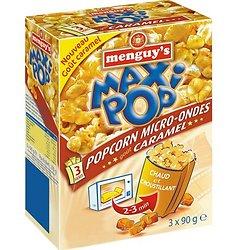 Popcorn micro-ondes caramel 3*90g