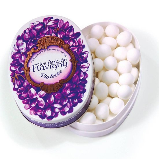 Anis parfum violette - boite ovale fer collection 50g