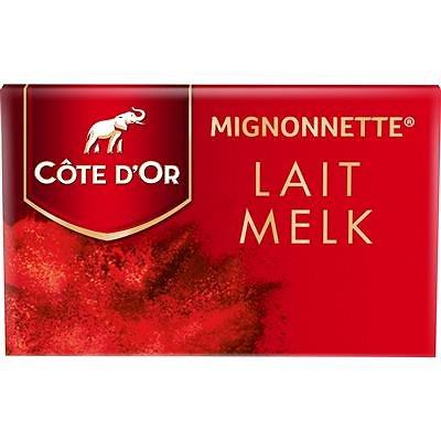 Mignonnettes Lait Côte d'Or - lot de 10
