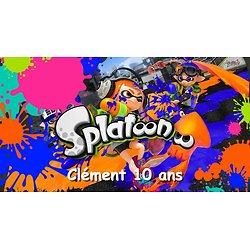 Plaque azyme Splatoon