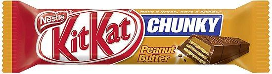 Kit Kat Chunky peanut butter