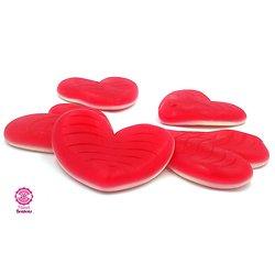 Maxi bonbon Coeur gélifié rouge - Lot de 3