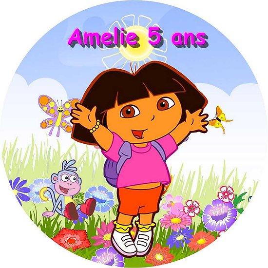 Disque azyme Dora l'exploratrice