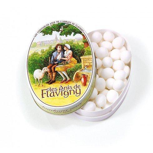 Anis parfum naturel - boite ovale fer collection 50g
