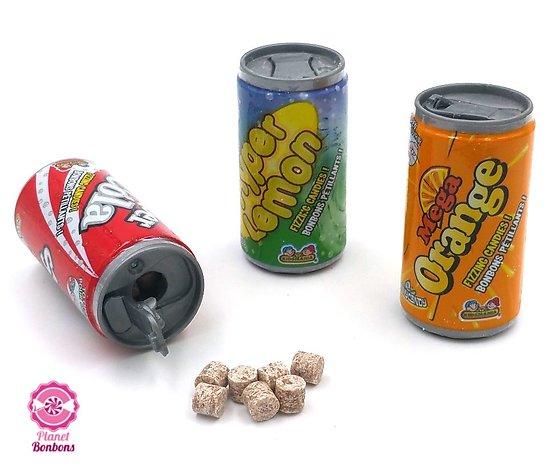 Candy fizz trio