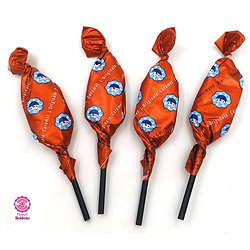 Sucette Pierrot Gourmand caramel - Lot de 10